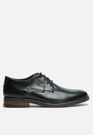 Basicthread Scotty Leather Derby Formal Shoes Black