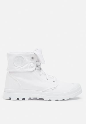 Palladium Blanc Baggy Boots White