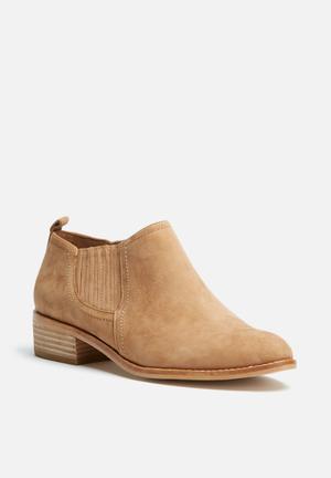 ALDO Luzzena Boots Cognac