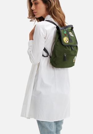 Pieces Dolly Backpack Bags & Purses Olive