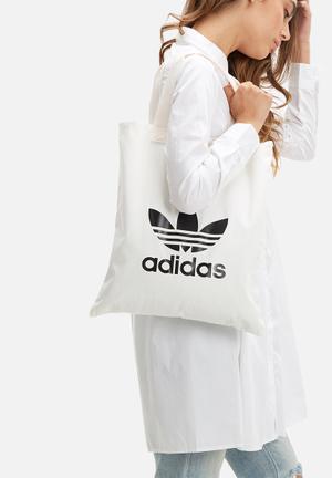 Adidas Originals Shopper Bags & Purses White & Black