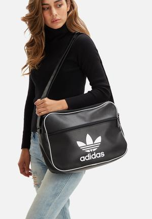 Adidas Originals Airliner Classic PU Bag Black & White
