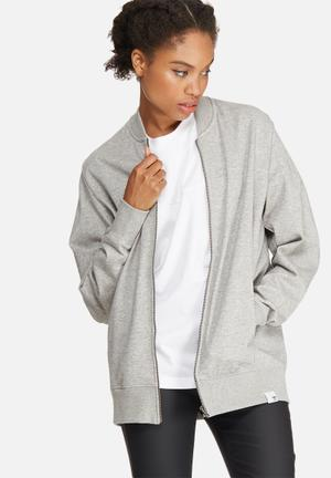 Adidas Originals XbyO Track Top Hoodies & Jackets Grey