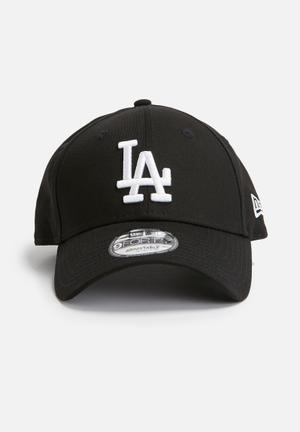 New Era 9Forty LA Dodgers Headwear Black & White