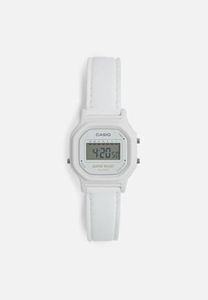 Casio Digital Wrist Watch White