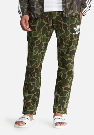 Adidas Originals Camo Sweatpant Green, Brown & Black