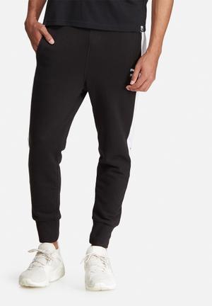 PUMA Archive Logo T7 Sweat Pant Sweatpants & Shorts Black & White