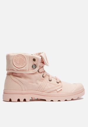 Palladium Pallabrouse Baggy Boots Soft Pink