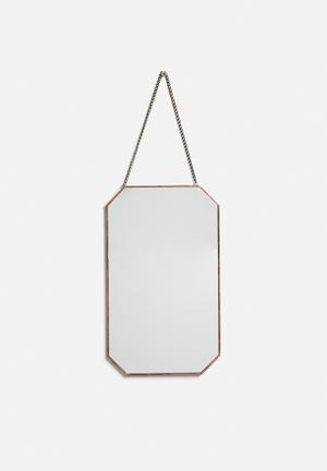 Arkivio Chamfer Mirror - Copper Accessories Mirror