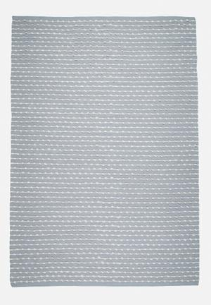 Sixth Floor Dotty Knotted Rug 100% Cotton