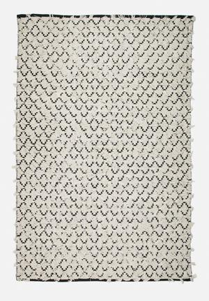 Sixth Floor Knotted Cotton Area Rug 100% Cotton