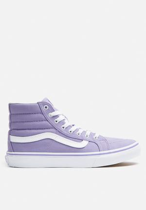 Vans SK8-Hi Slim Sneakers Lavender / True White