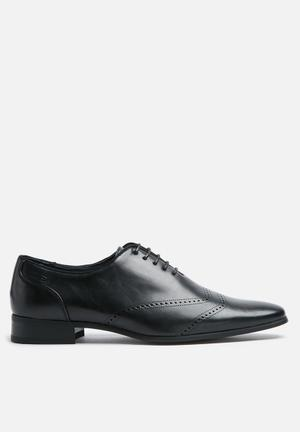 Gino Paoli Oliver Oxford Formal Shoes Black