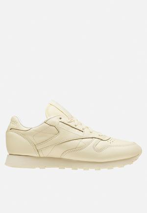 Reebok Classic Leather Pastels Sneakers Washed Yellow/White