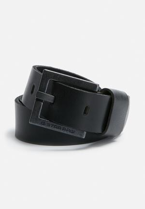 G-Star RAW Duko Belt  Black
