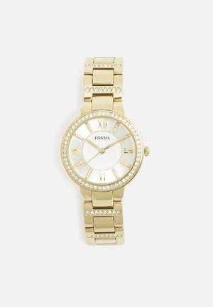 Fossil Virginia Watches Gold