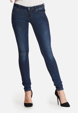 G-Star RAW 3301 Low Skinny Jeans Blue