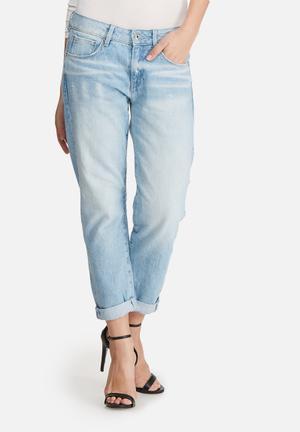 G-Star RAW 3301 Low Boyfriend Jeans Blue