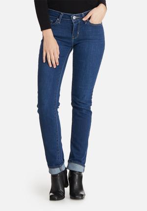 Levi's® 712 Slim Stright Skinny Jeans Blue