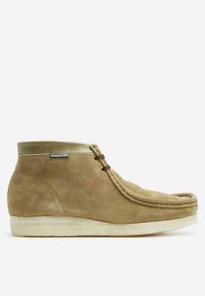 Grasshoppers Moccasin Mid Boots Olive