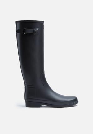 Hunter Original Refined Matte Boots Black