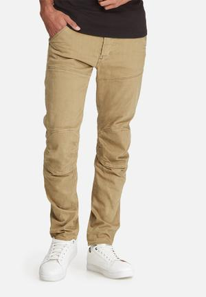 G-Star RAW 5620 3D Slim Jeans Stone