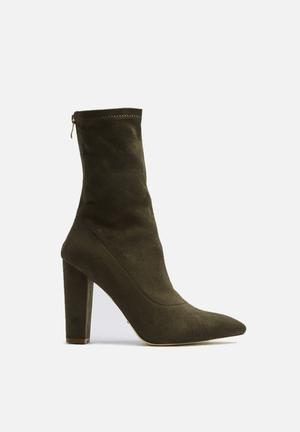 Billini Octavia Boots Khaki