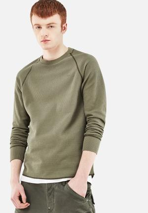 G-Star RAW Jirgi Sweater Hoodies & Sweatshirts Green