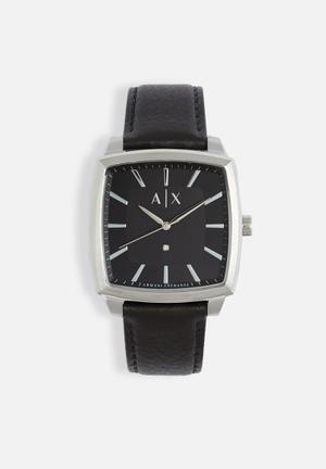 Armani Exchange Nico Watches Black