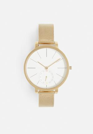 Skagen Hagen Watches White & Gold