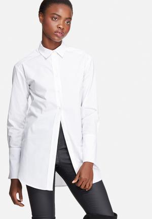 Dailyfriday Boyfriend Cotton Shirt White