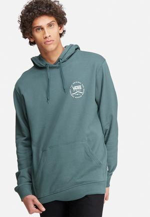 Vans Original Rubber Hoodie Hoodies & Sweatshirts Blue Grey & White
