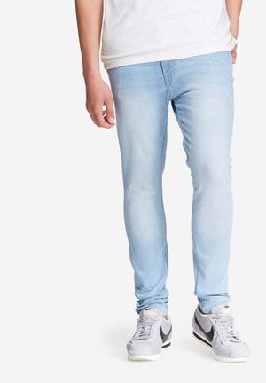 Jack & Jones Jeans Intelligence Liam Skinny Fit Jeans Blue