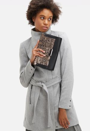 Dailyfriday Denne Clutch Bags & Purses Gold & Black