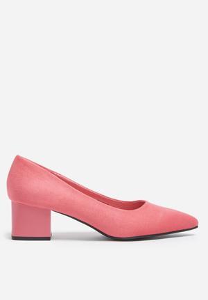 Footwork Jasmine Heels Pink