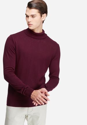 Basic roll neck pullover
