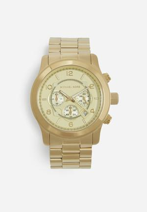 Michael Kors Runway Watches Gold