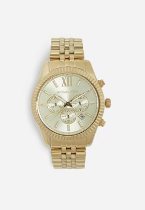 Michael Kors Lexington Watches Gold