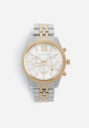 Michael Kors Lexington Watches Silver & Gold