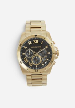 Michael Kors Brecken Watches Gold