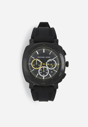 Michael Kors Bax Watches Black