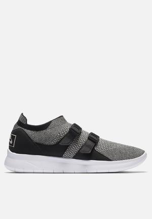 Nike Sock Racer Ultra Flyknit Sneakers Black / Pale Grey - Black - White