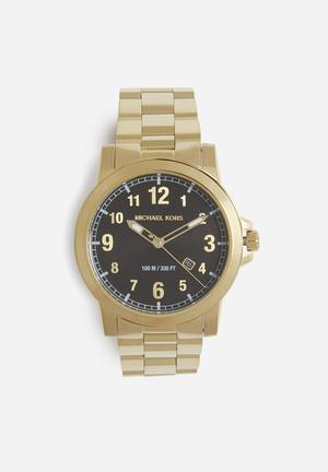 Michael Kors Paxton Watches Gold Tone