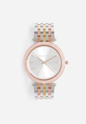 Michael Kors Darci Watches Silver, Gold & Rose Gold