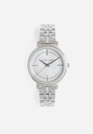 Michael Kors Cinthia Watches Silver