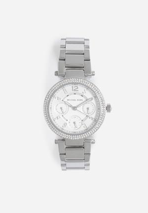 Michael Kors Parker Mini Watches Silver