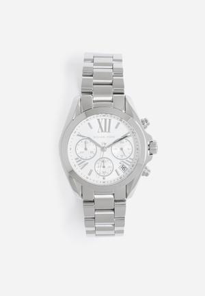 Michael Kors Bradshaw Mini Watches Silver