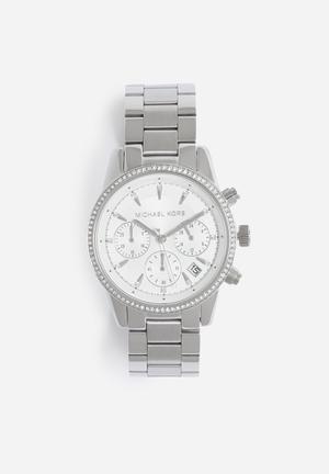 Michael Kors Ritz Watches Silver
