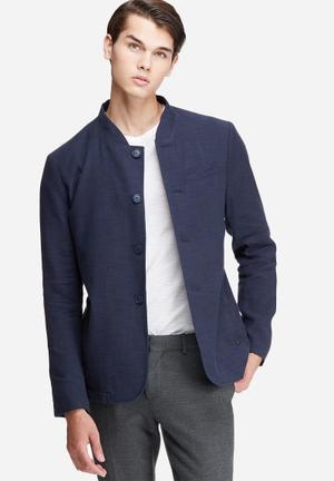 Selected Homme Dover Blazer Jackets & Coats Navy