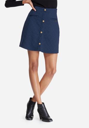 Vero Moda Skyler Skirt Navy